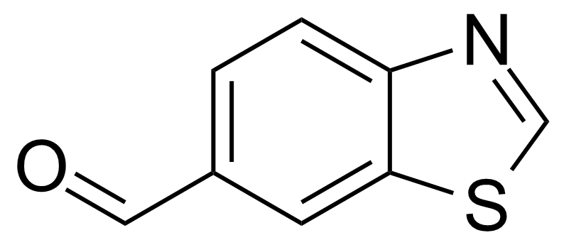 Structure of 1,3-Benzothiazole-6-carboxaldehyde