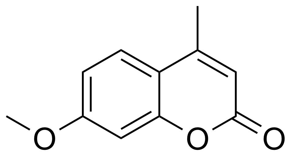 Structure of 7-Methoxy-4-methylcoumarin