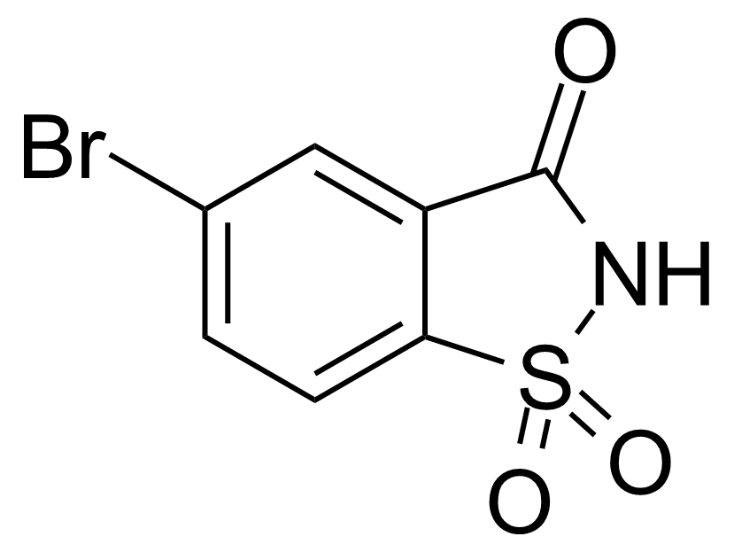 Structure of 5-Bromobenzo[d]isothiazol-3(2H)-one 1,1-dioxide