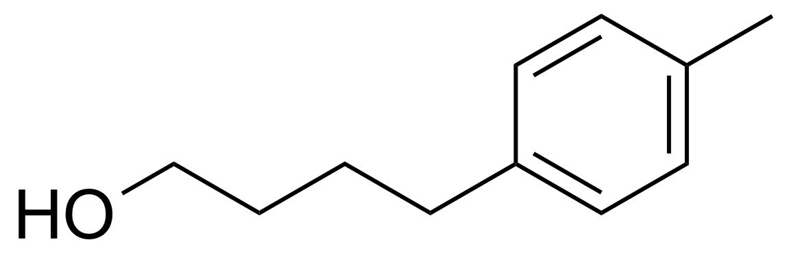 Structure of 4-(4-Methylphenyl)butan-1-ol