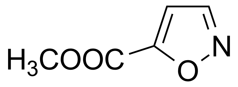 Structure of Methyl isoxazole-5-carboxylate
