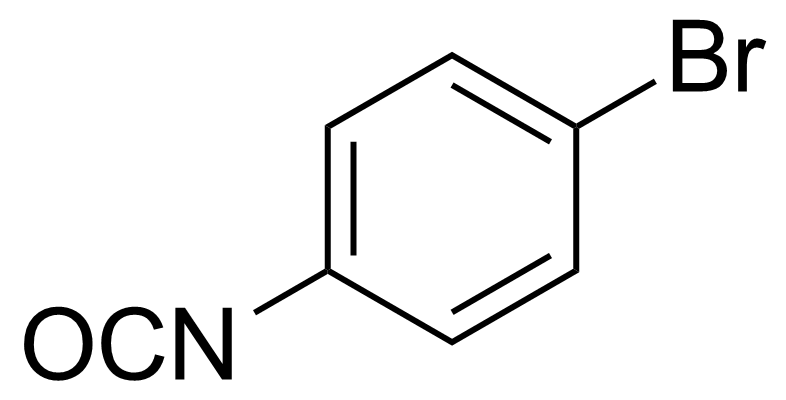 Structure of 4-Bromophenyl isocyanate