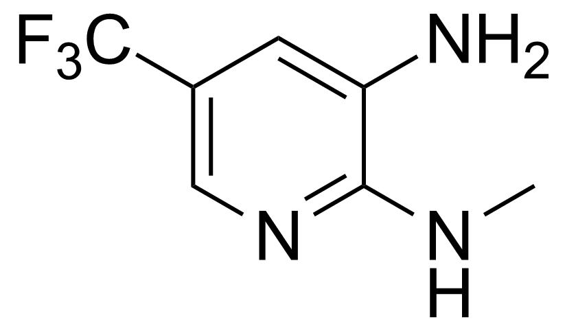 Structure of 3-Amino-2-methylamino-5-(trifluoromethyl)pyridine