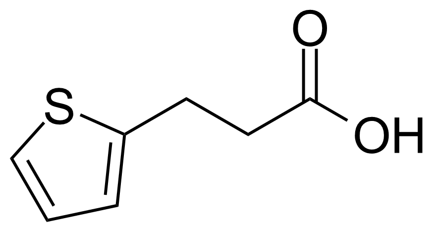 Structure of 3-(2-Thienyl)propanoic acid