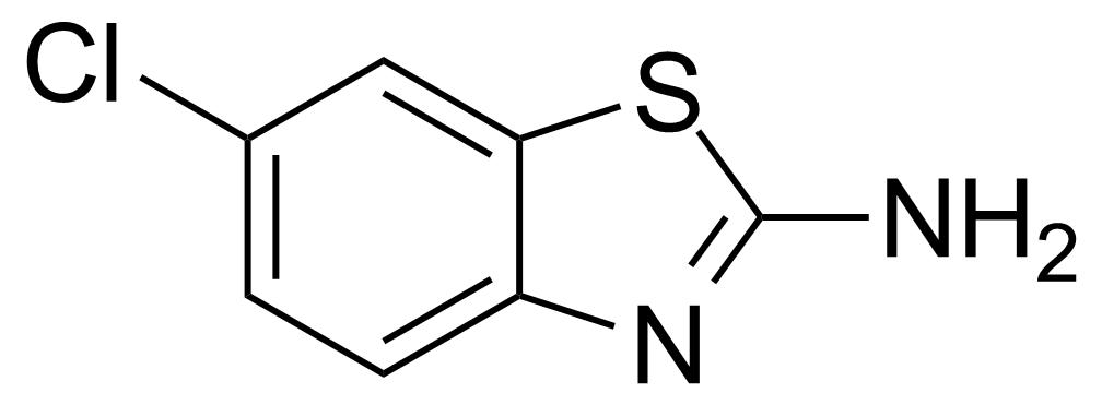 Structure of 2-Amino-6-chlorobenzothiazole