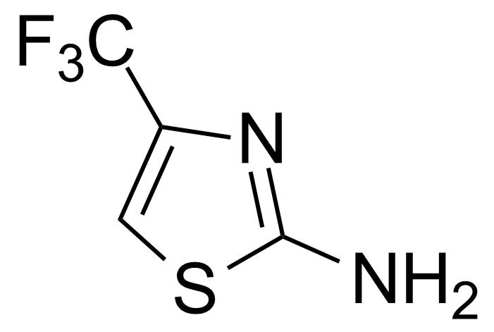 Structure of 2-Amino-4-trifluoromethyl-1,3-thiazole