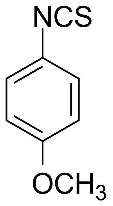 Structure of 4-Methoxyphenyl isothiocyanate