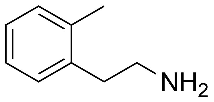Structure of 2-Methylphenethylamine