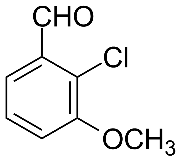 Structure of 2-Chloro-3-methoxybenzoic acid