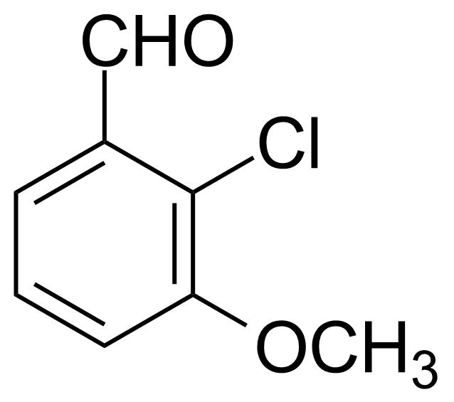 Structure of 2-Chloro-3-methoxybenzaldehyde