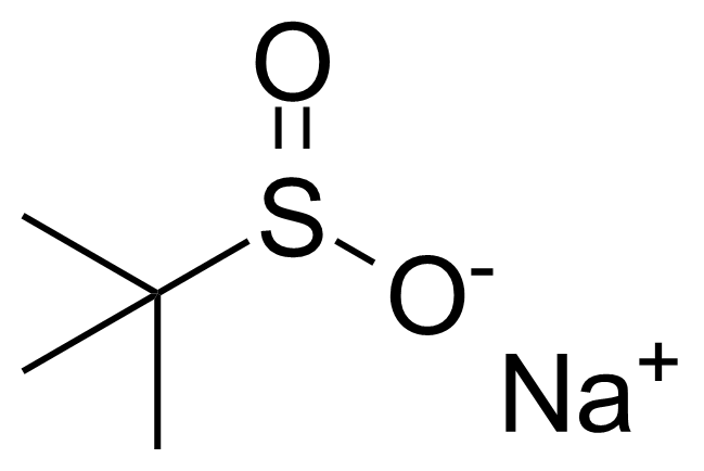 Structure of tert-Butylsulfinic acid sodium salt