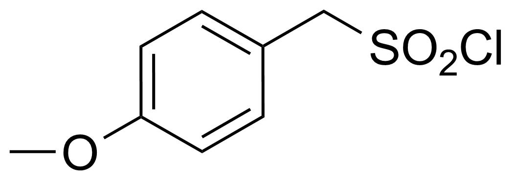 Structure of (4-Methoxyphenyl)methanesulfonyl chloride