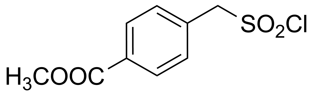 Structure of Methyl 4-[(chlorosulfonyl)methyl]benzoate