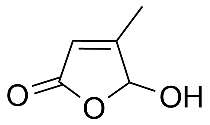 Structure of 5-Hydroxy-4-methyl-2(5H)-furanone