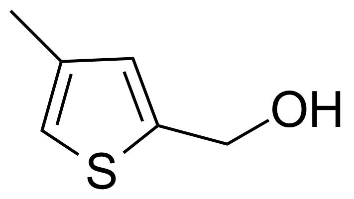Structure of 2-(Hydroxymethyl)-4-methylthiophene
