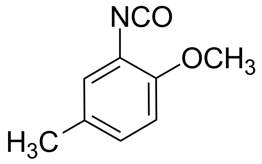 Structure of 2-Methoxy-5-methylphenyl isocyanate