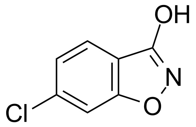 Structure of 6-Chloro-3-hydroxy-1,2-benzisoxazole