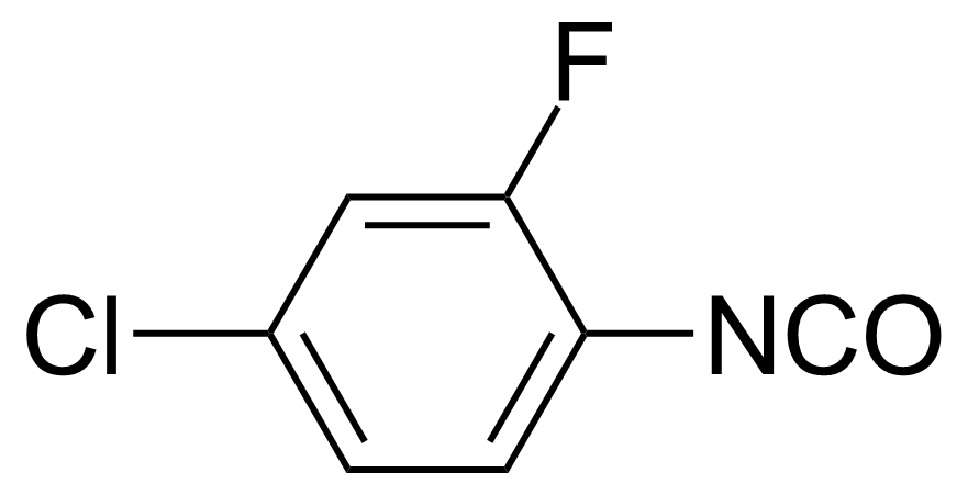 Structure of 4-Chloro-2-fluorophenyl isocyanate