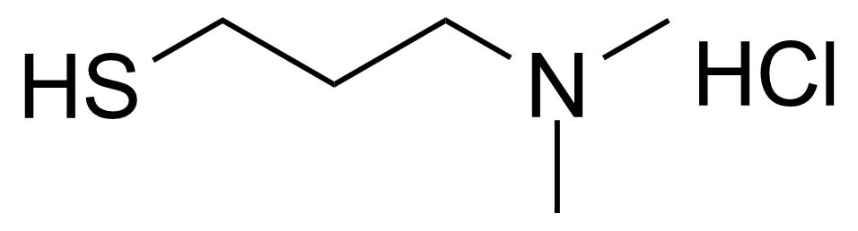 Structure of 3-(Dimethylamino)-1-propanethiol hydrochloride