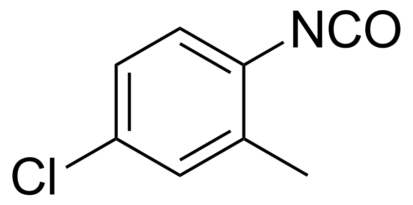 Structure of 4-Chloro-2-methylphenylisocyanate