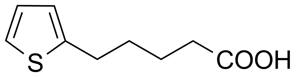 Structure of 2-Thiophenepentanoic acid