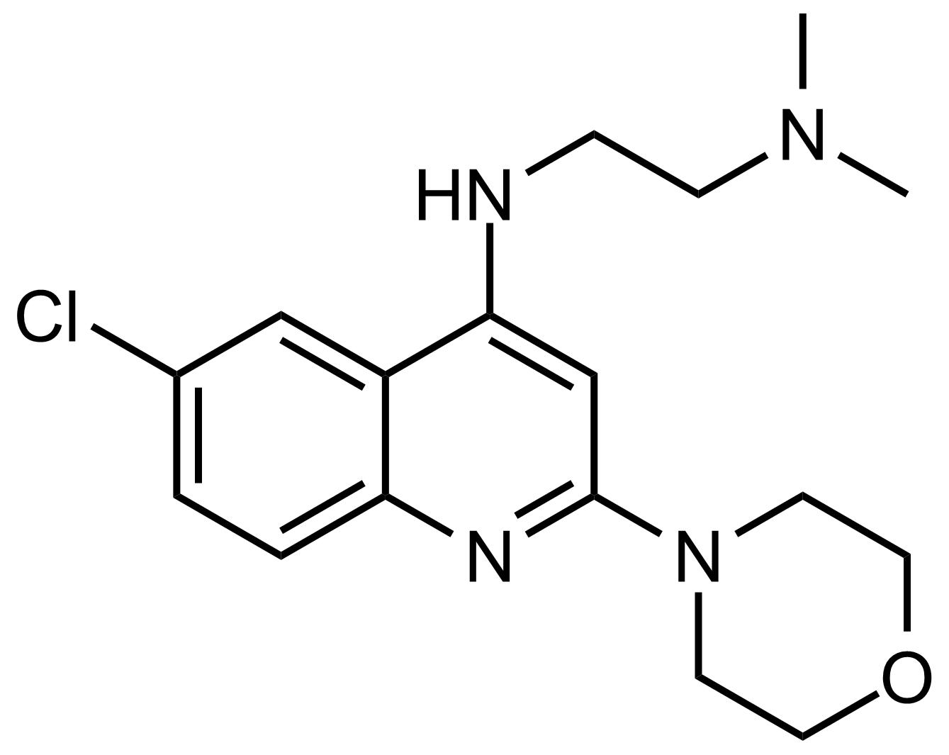 Structure of N'-(6-Chloro-2-morpholinoquinolin-4-yl)-N,N-dimethylethane-1,2-diamine