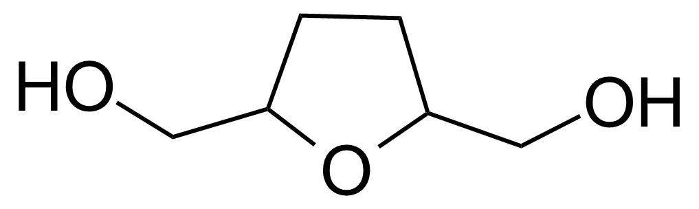 Structure of [5-(Hydroxymethyl)tetrahydrofuran-2-yl]methanol