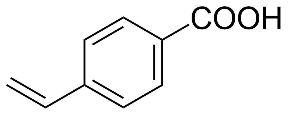 Structure of 4-Vinylbenzoic acid