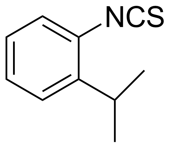 Structure of 2-Isopropylphenyl isothiocyanate