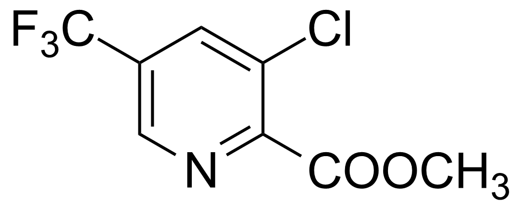 Structure of Methyl 3-chloro-5-(trifluoromethyl)pyridine-2-carboxylate