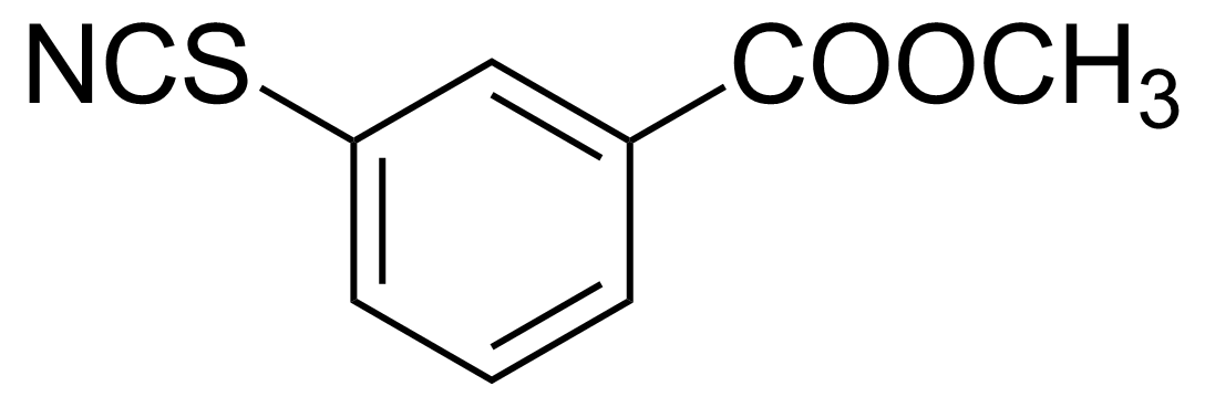 Structure of 3-(Methoxycarbonyl)phenyl isothiocyanate