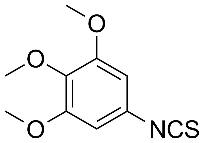 Structure of 3,4,5-Trimethoxyphenyl isothiocyanate