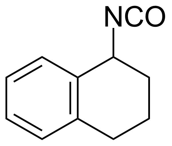 Structure of 1-Isocyanato-1,2,3,4-tetrahydro naphthalene