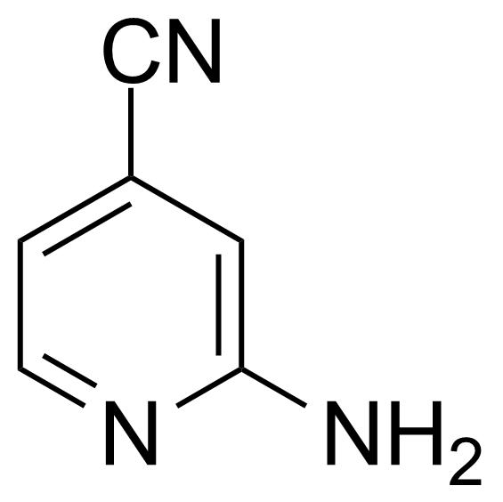 Structure of 2-Amino-4-cyanopyridine