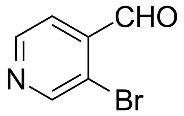 Structure of 3-Bromo-4-pyridinecarboxaldehyde