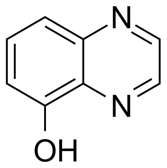 Structure of 5-Hydroxyquinoxaline