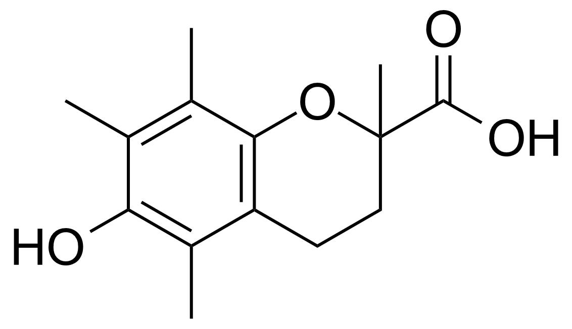 Structure of (±)-6-Hydroxy-2,5,7,8-tetramethylchromane-2-carboxylic acid