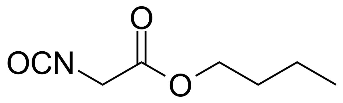 Structure of n-Butyl isocyanatoacetate