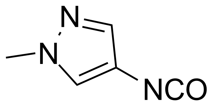 Structure of 4-Isocyanato-1-methyl-1H-pyrazole