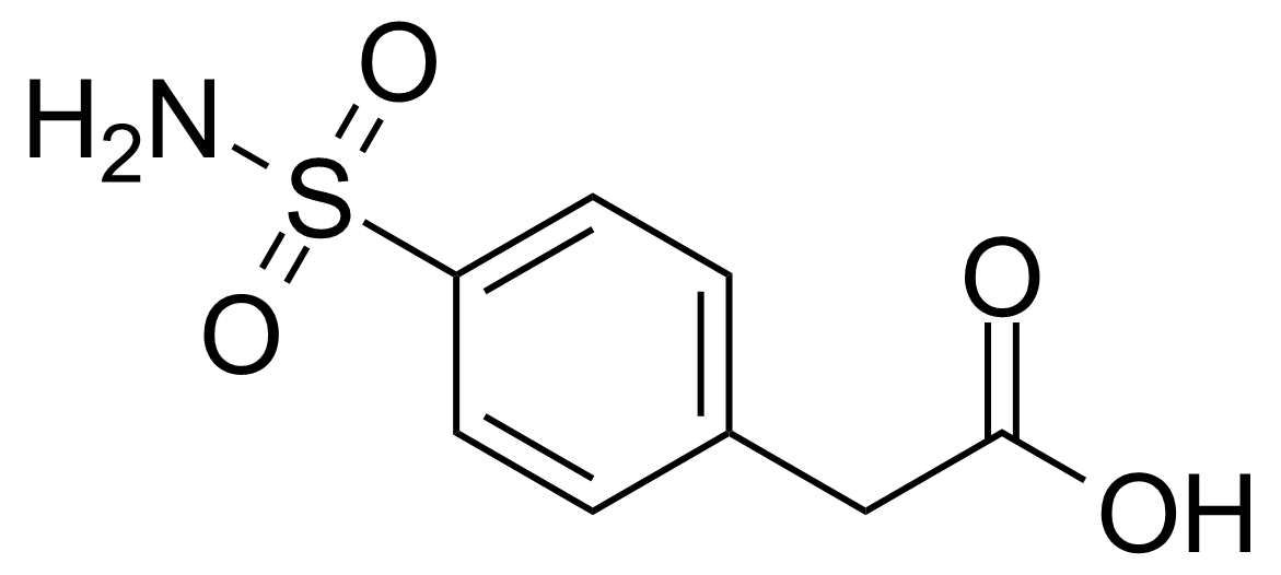 Structure of 2-(4-Sulfamoylphenyl)acetic acid
