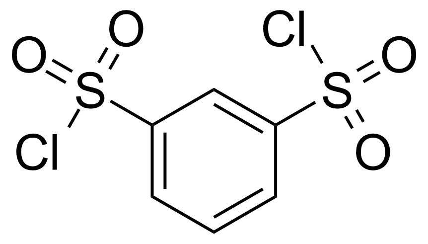 Structure of Benzene-1,3-disulfonyl chloride