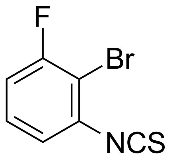 Structure of 2-Bromo-1-fluoro-3-isothiocyanatobenzene