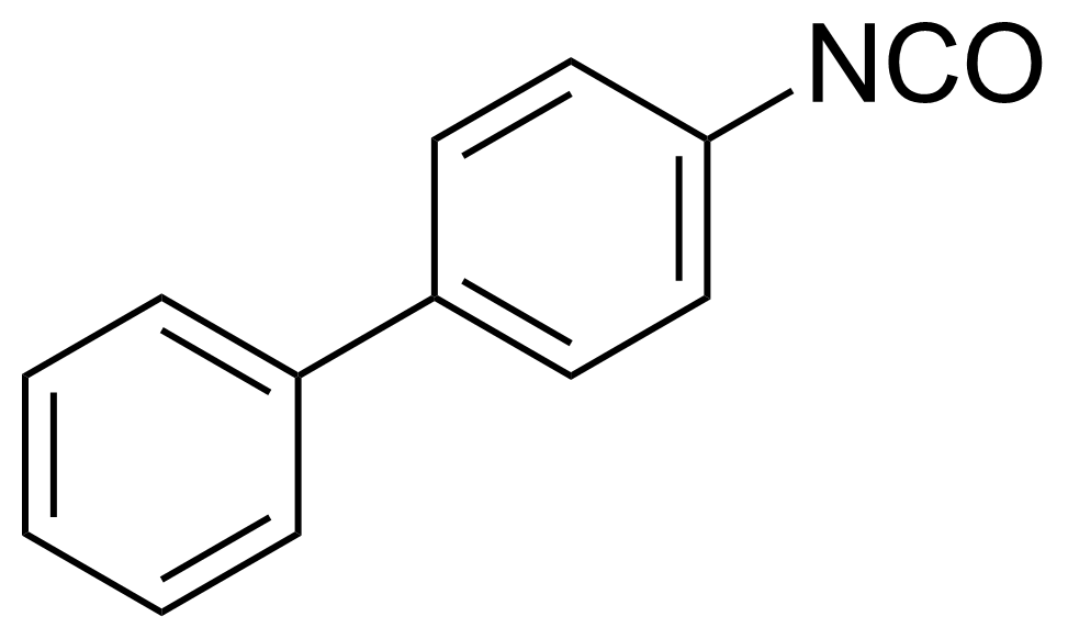 Structure of 4-Biphenylyl isocyanate