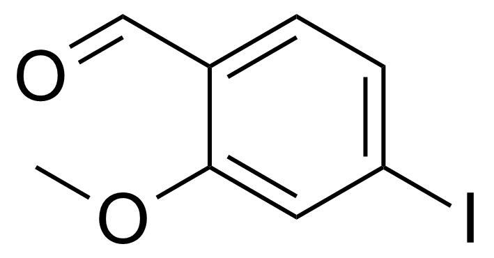 Structure of 4-Iodo-2-methoxybenzaldehyde