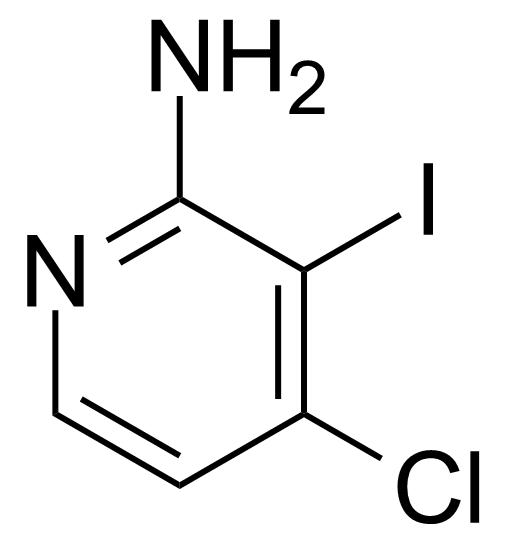 Structure of 2-Amino-4-chloro-3-iodopyridine