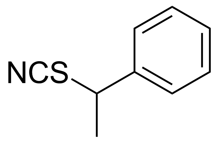 Structure of (+)-1-Phenylethyl isothiocyanate
