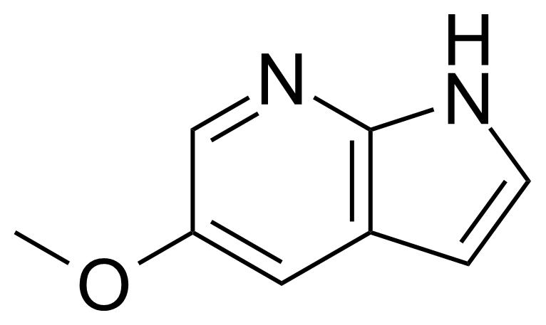 Structure of 5-Methoxy-7-azaindole