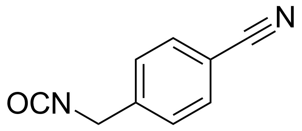 Structure of 4-(Isocyanatomethyl)benzonitrile