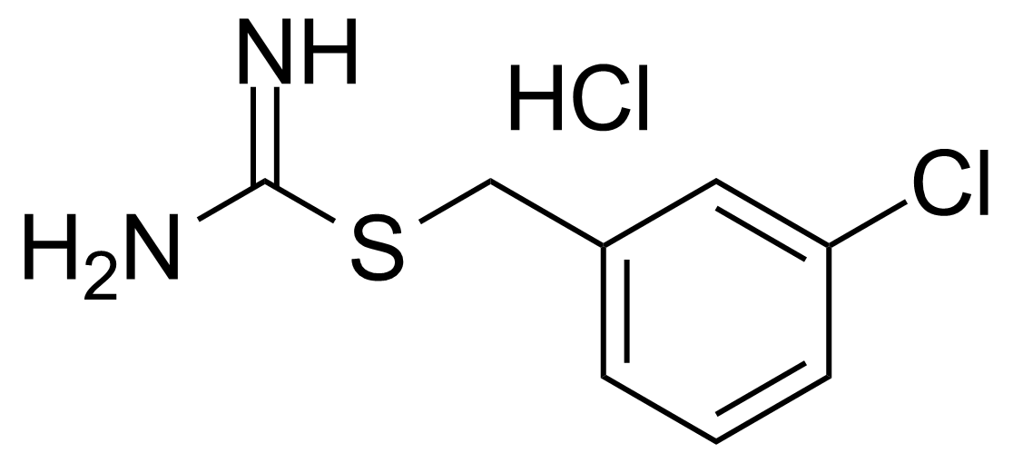 Structure of 2-(3-Chlorobenzyl)-2-thiopseudourea hydrochloride