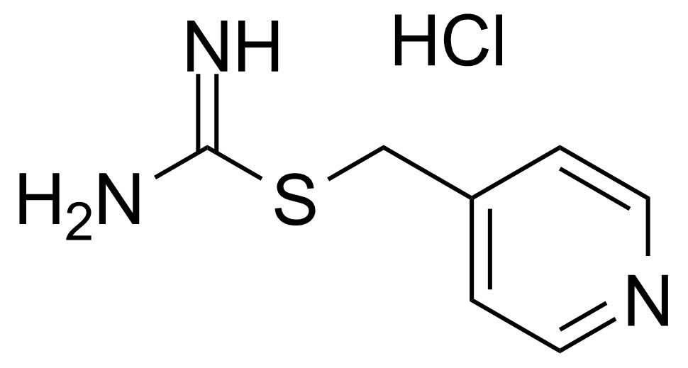 Structure of Carbamimidothioic acid 4-pyridinylmethyl ester hydrochloride